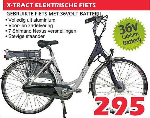 ITEK X-Tract Elektrische Fiets