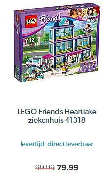 Wehkamp LEGO Friends Heartlake Ziekenhuis 41318