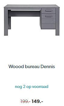 Wehkamp Woood Bureau Dennis
