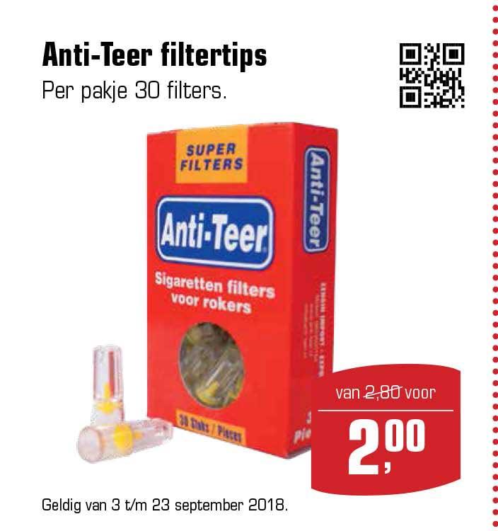 Primera Anti Teer Filtertips