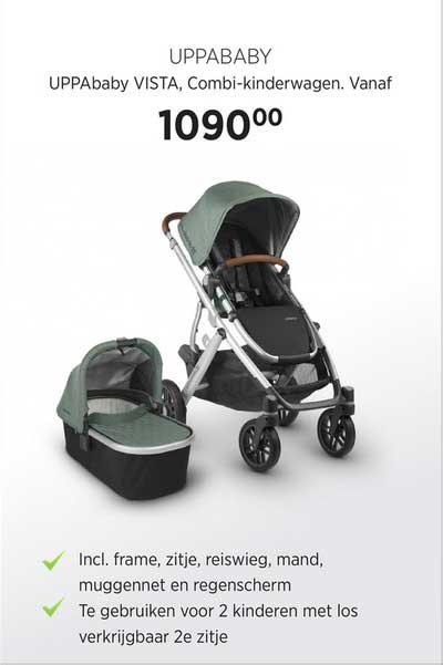 Babypark Uppababy Vista Combi Kinderwagen