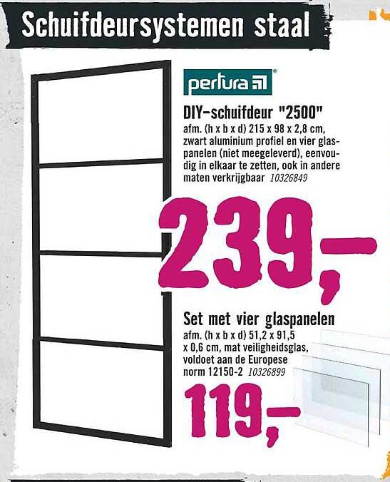 Hornbach Pertura DIY-Schuifdeur