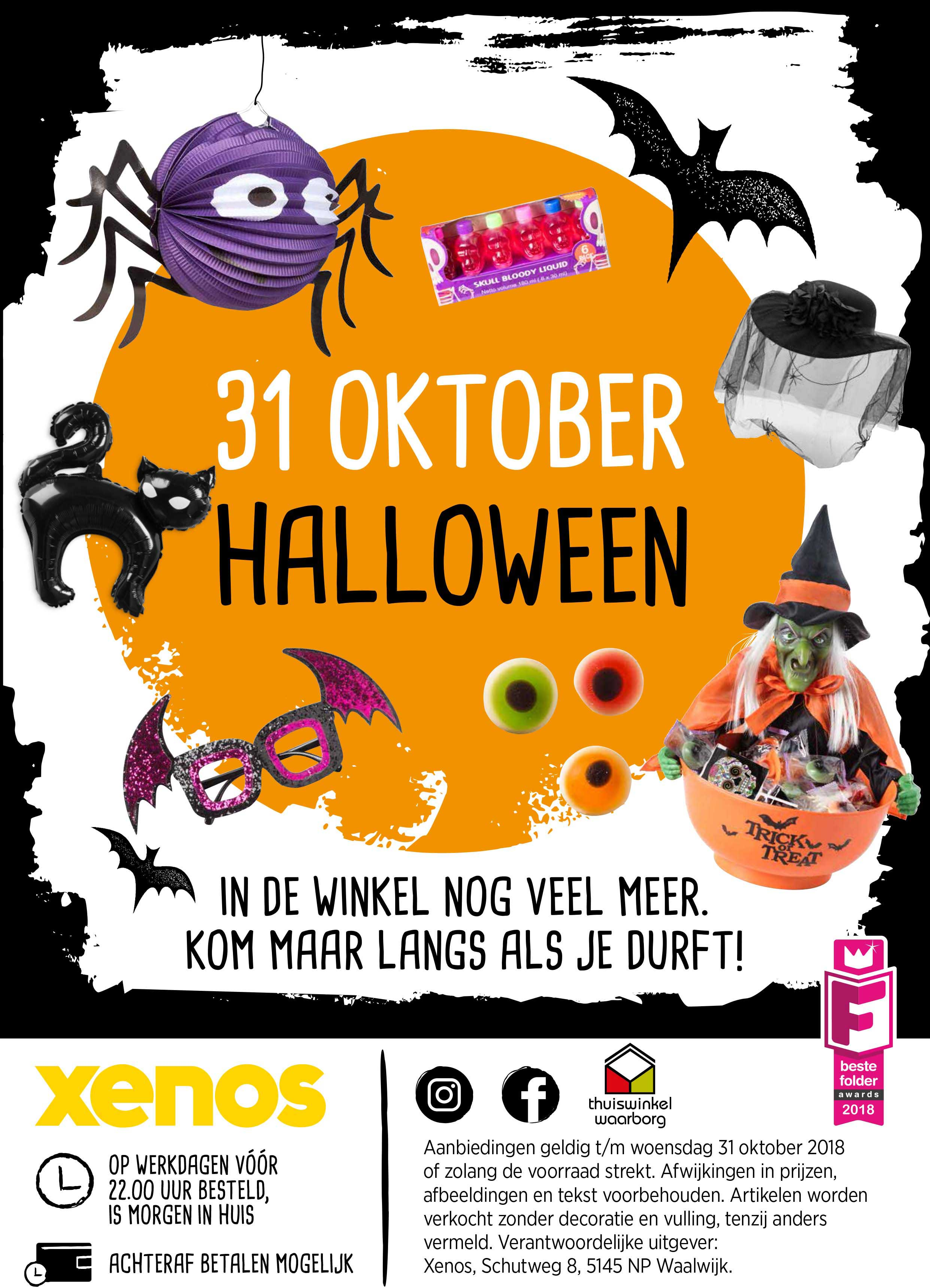 Xenos 31 Oktober Halloween