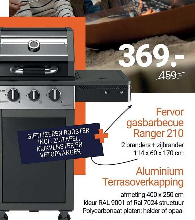 Inter Chalet Fervor Gasbarbecue Ranger 210