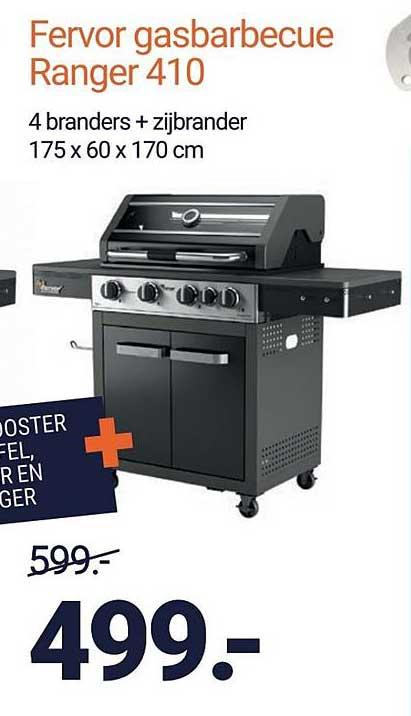 Inter Chalet Fervor Gasbarbecue Ranger 410