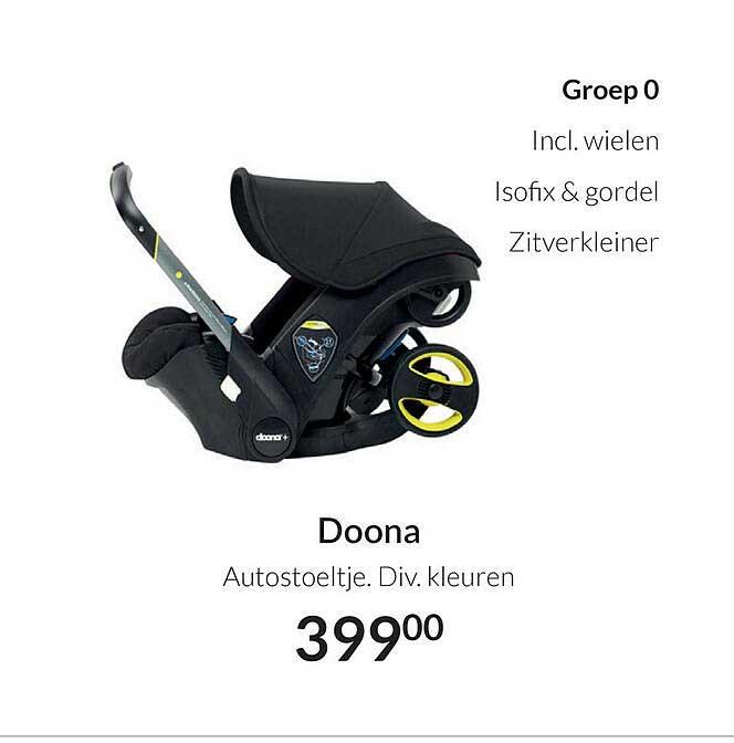Babypark Doona Autostoeltje