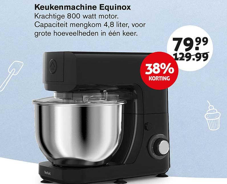 Hoogvliet Keukenmachine Equinox 38% Korting