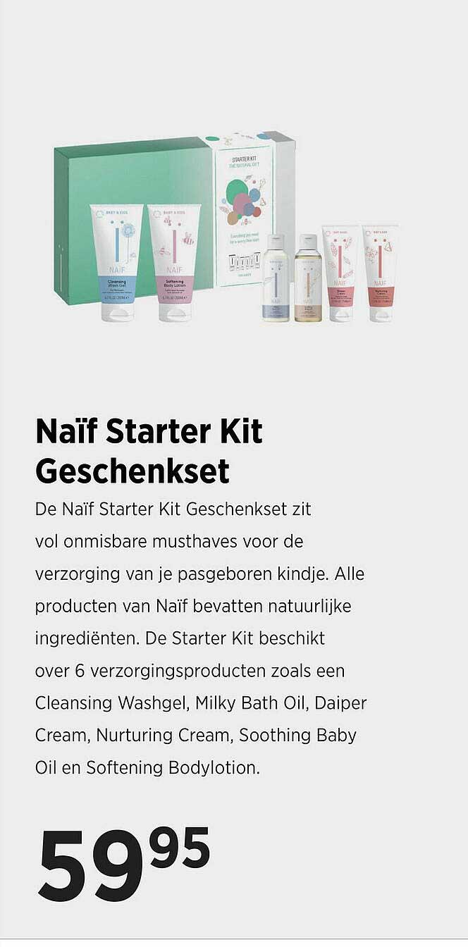 Babypark Naïf Starter Kit Geschenkset