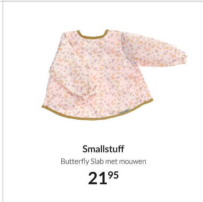 Babypark Smallstuff Butterfly Slab Met Mouwen
