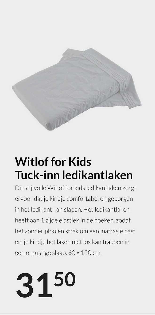 Babypark Witlof For Kids Tuck-Inn Ledikantlaken