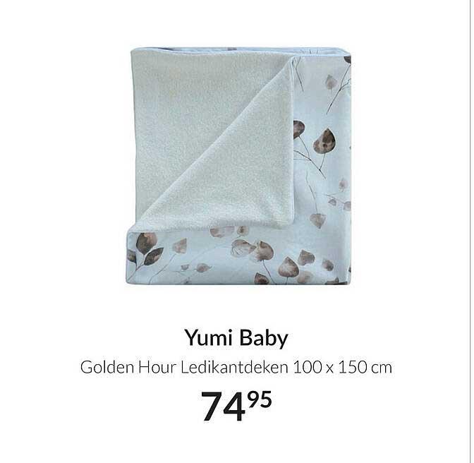 Babypark Yumi Baby Golden Hour Ledikantdeken 100 X 150 Cm