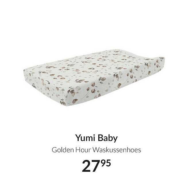 Babypark Yumi Baby Golden Hour Waskussenhoes