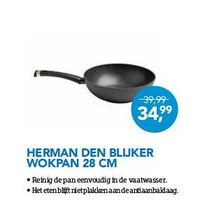 Coolblue Herman Den Blijker Wokpan 28 Cm