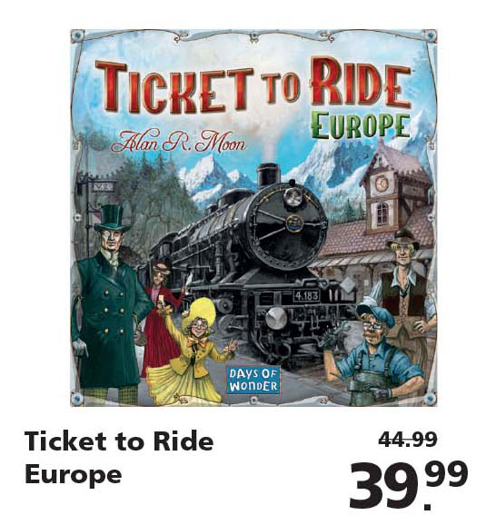Intertoys Ticket To Ride Europa