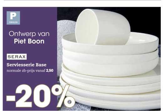 HANOS Ontwerp Van Piet Boon: Serax Serviesserie Base