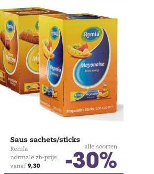HANOS Saus Sachets-sticks