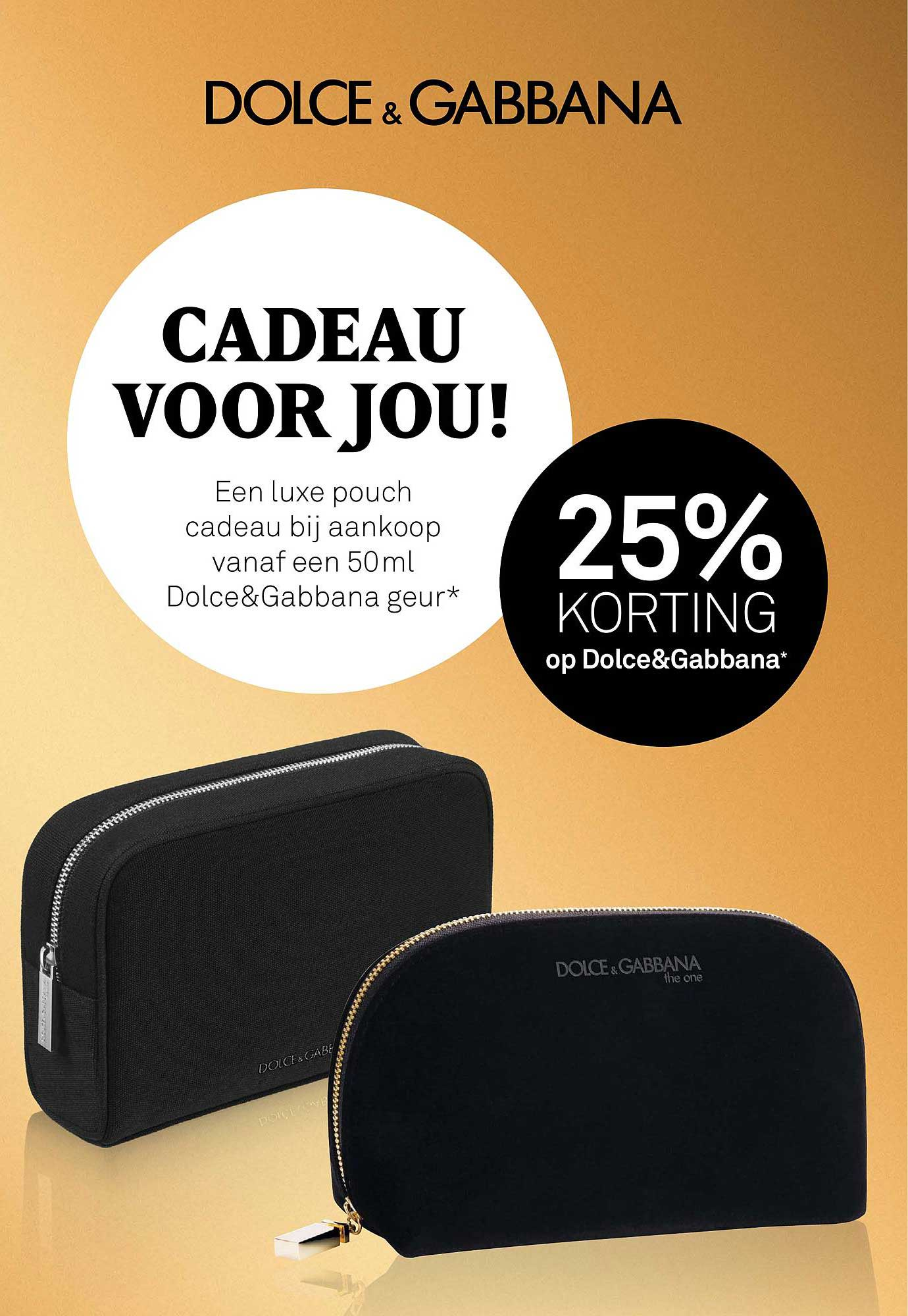 MOOI Parfumerie Op Dolce&Gabbana 25% Korting
