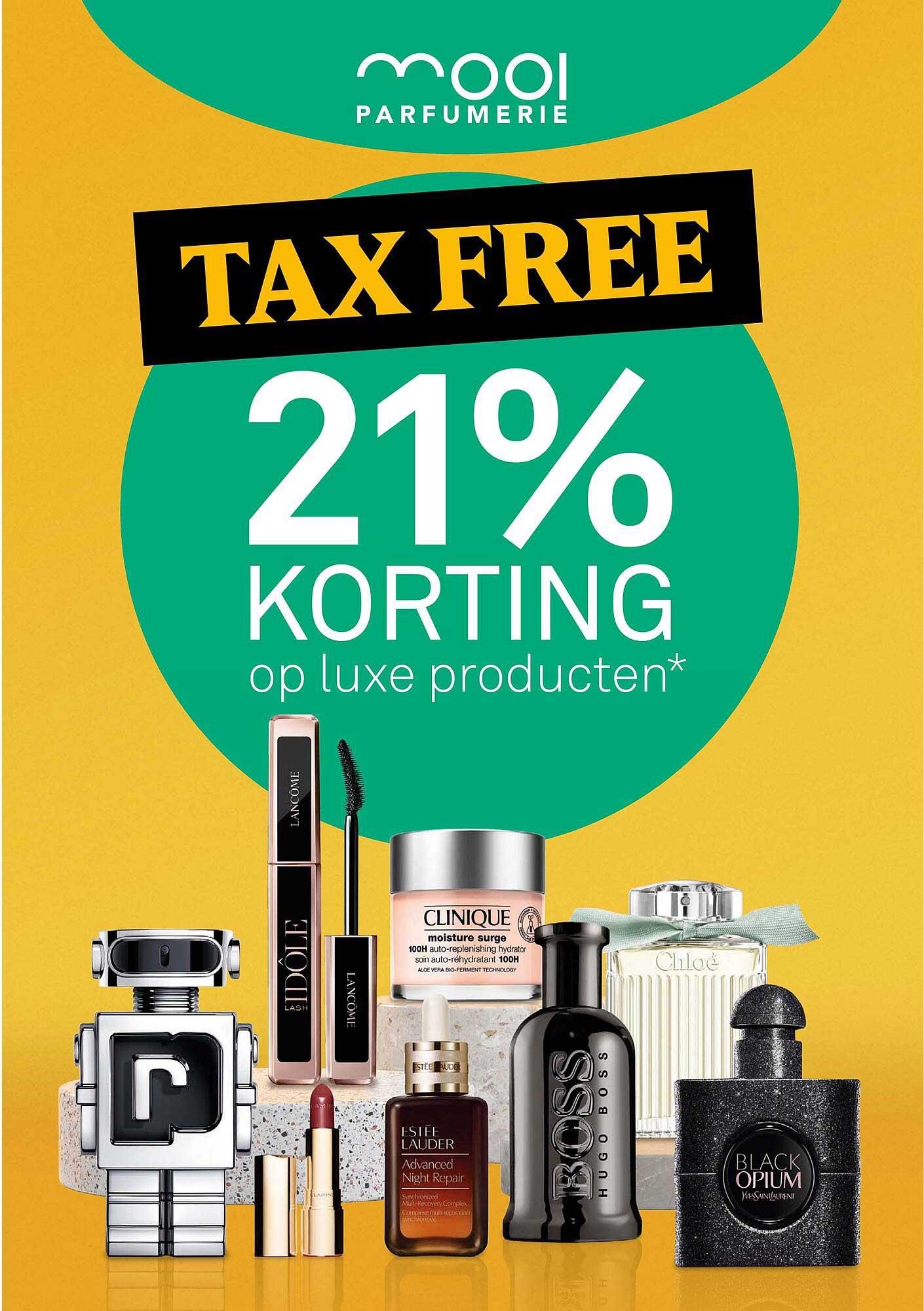 MOOI Parfumerie Op Luxe Producten 21% Korting