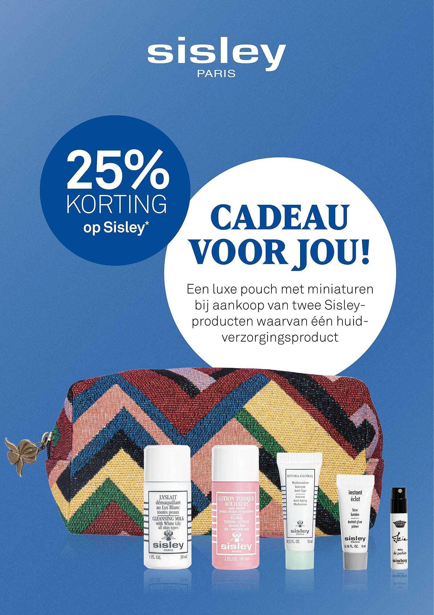 MOOI Parfumerie Op Sisley 25% Korting