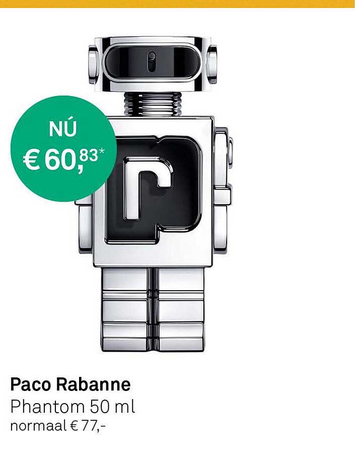 MOOI Parfumerie Paco Rabanne Phantom 50ml