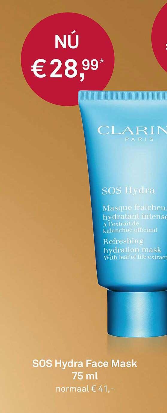 MOOI Parfumerie SOS Hydra Face Mask 75 Ml