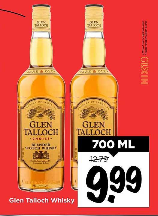 Vomar Glen Talloch Whisky