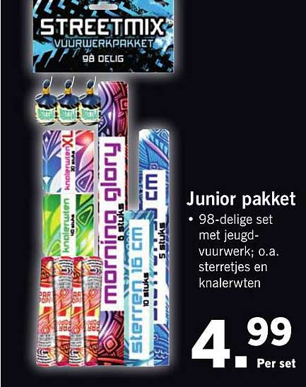 Lidl Junior Pakket