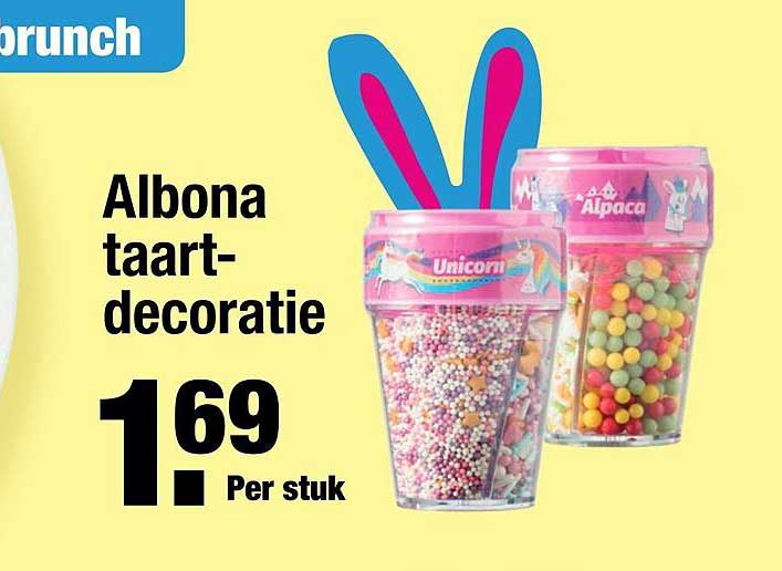 ALDI Albona Taartdecoratie
