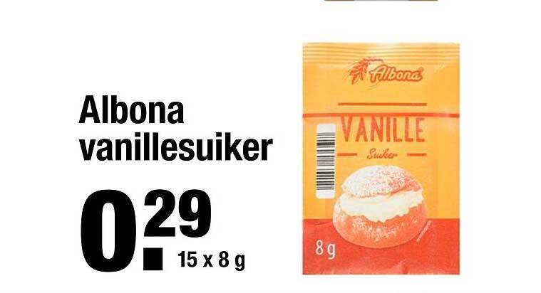 ALDI Albona Vanillesuiker