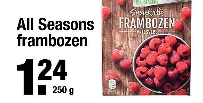 ALDI All Seasons Frambozen