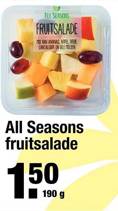 ALDI All Seasons Fruitsalade