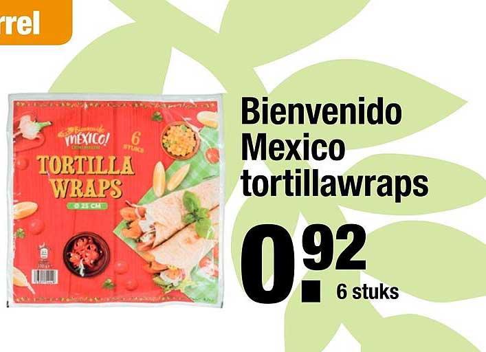 ALDI Bienvenido Mexico Tortillawraps