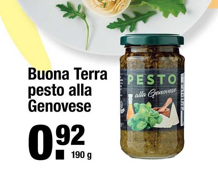 ALDI Buona Terra Pesto Alla Genovese