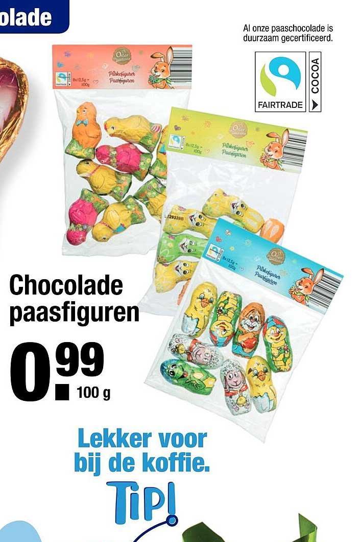 ALDI Chocolade Paasfiguren