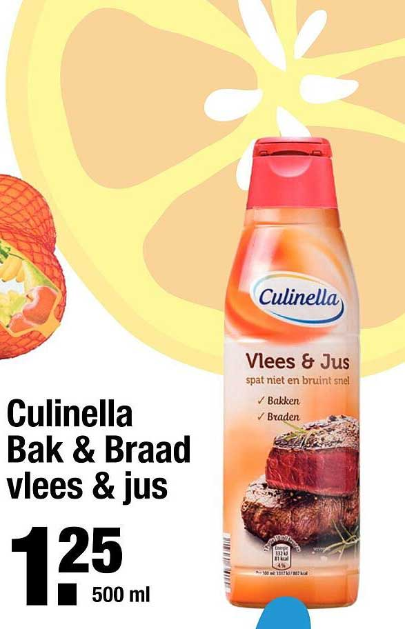 ALDI Culinella Bak & Braad Vlees & Jus