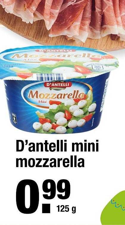ALDI D'Antelli Mini Mozzarella