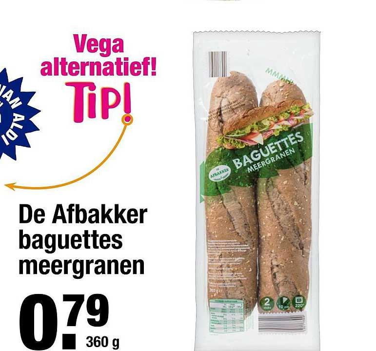 ALDI De Afbakker Baguettes Meergranen