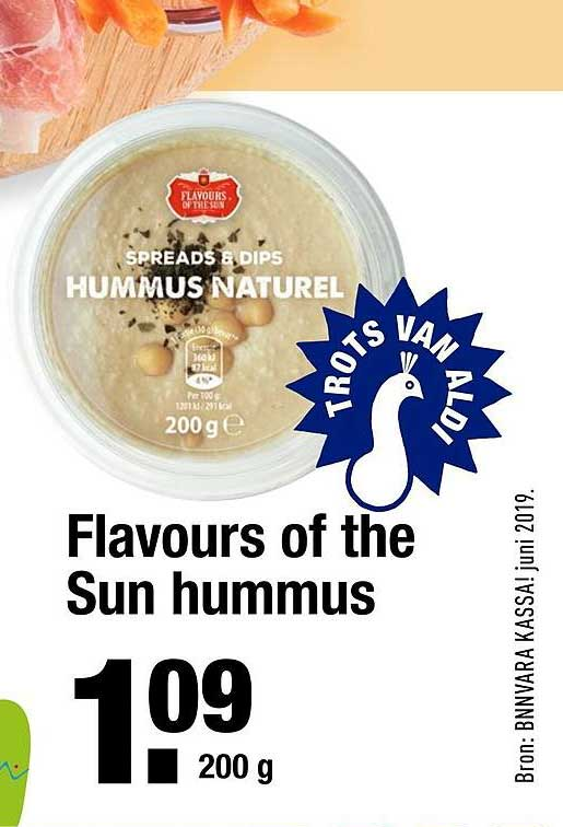 ALDI Flavours Of The Sun Hummus