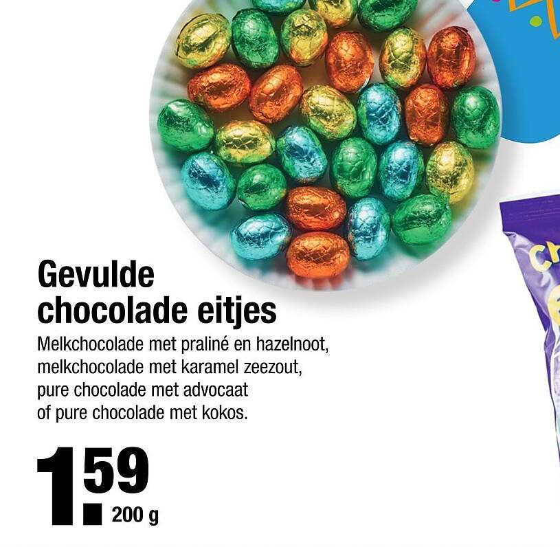 ALDI Gevulde Chocolade Eitjes