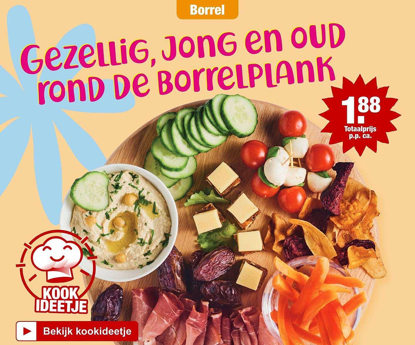 ALDI Gezellig, Jong En Oud Rond De Borrelplank
