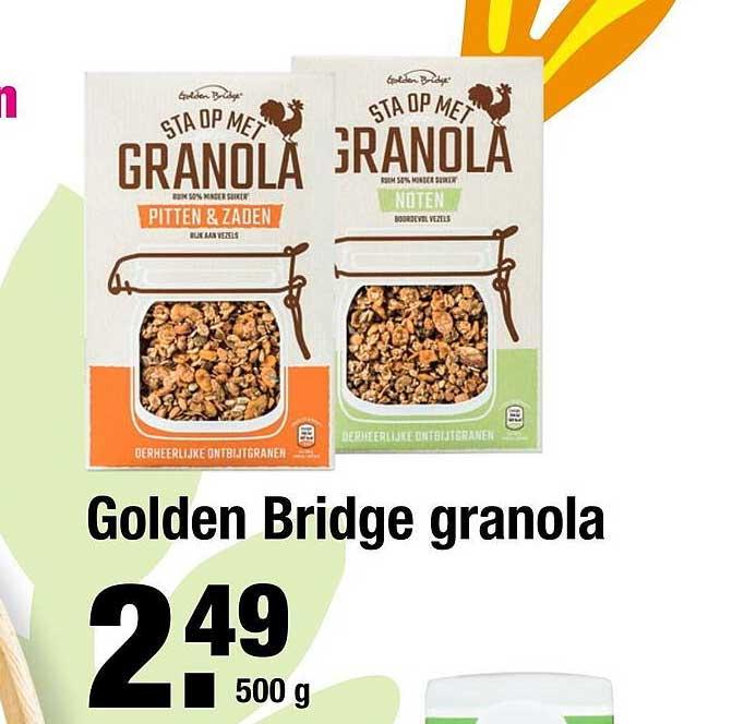 ALDI Golden Bridge Granola
