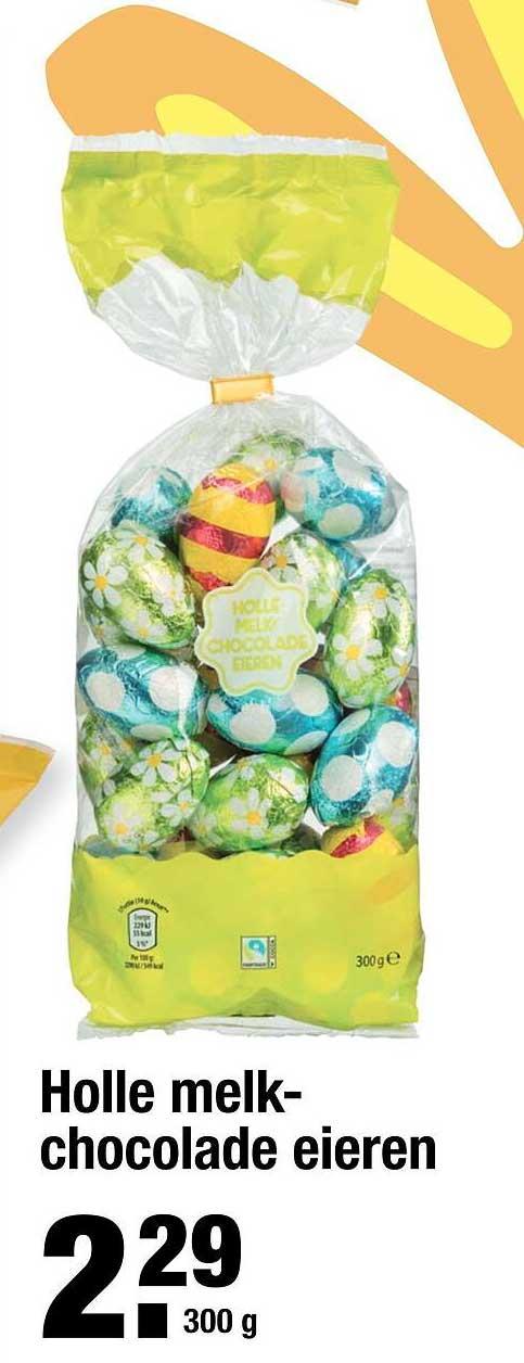 ALDI Holle Melkchocolade Eieren