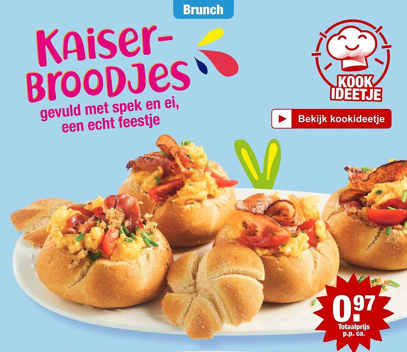 ALDI Kaiserbroodjes