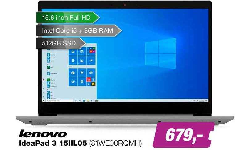EP Lenovo Ideapad 3 15IILO5 (81WE00RQMH)