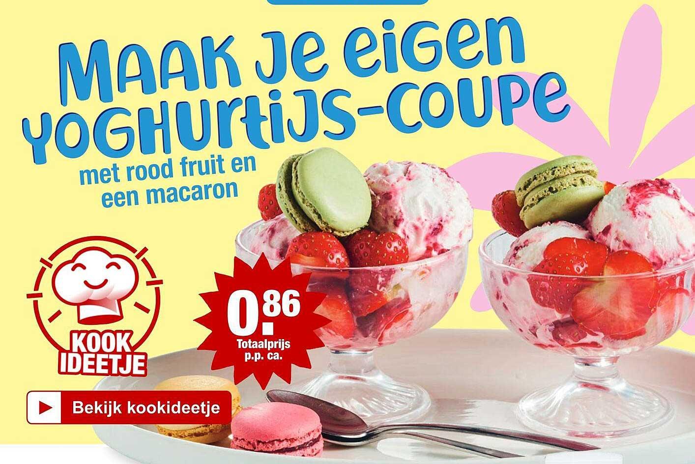 ALDI Maak Je Eigen Yoghurtijs-Coupe