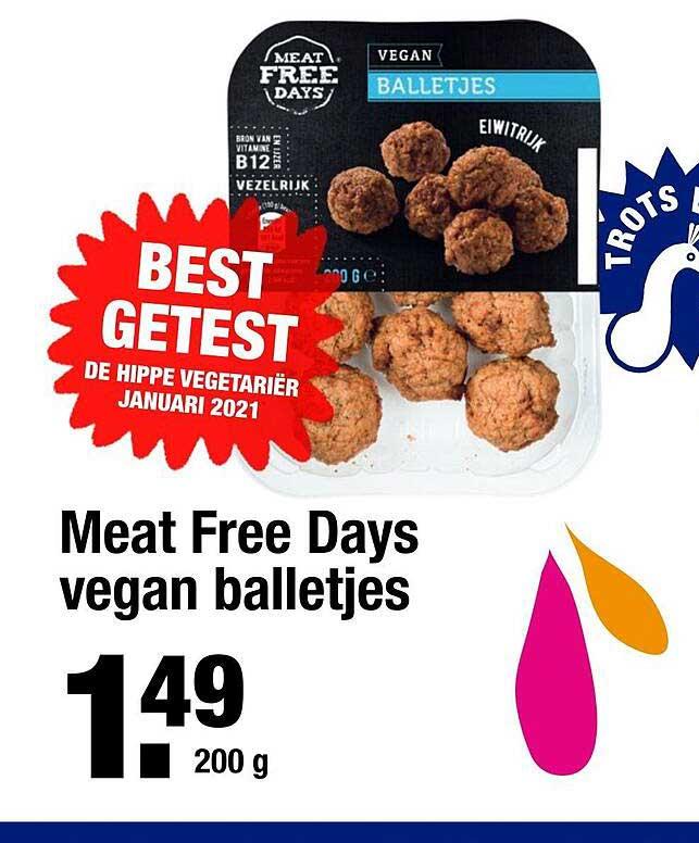 ALDI Meat Free Days Vegan Balletjes