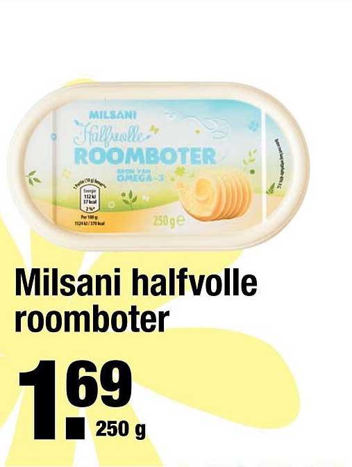 ALDI Milsani Halfvolle Roomboter