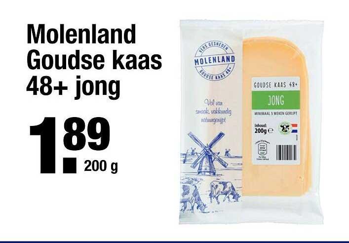 ALDI Molenland Goudse Kaas 48+ Jong