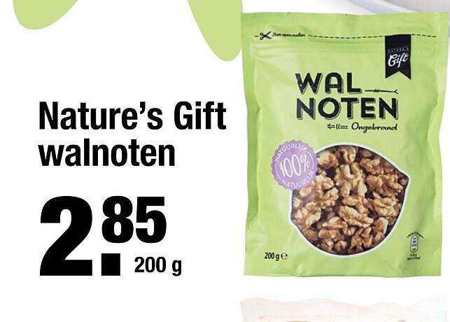 ALDI Nature's Gift Walnoten