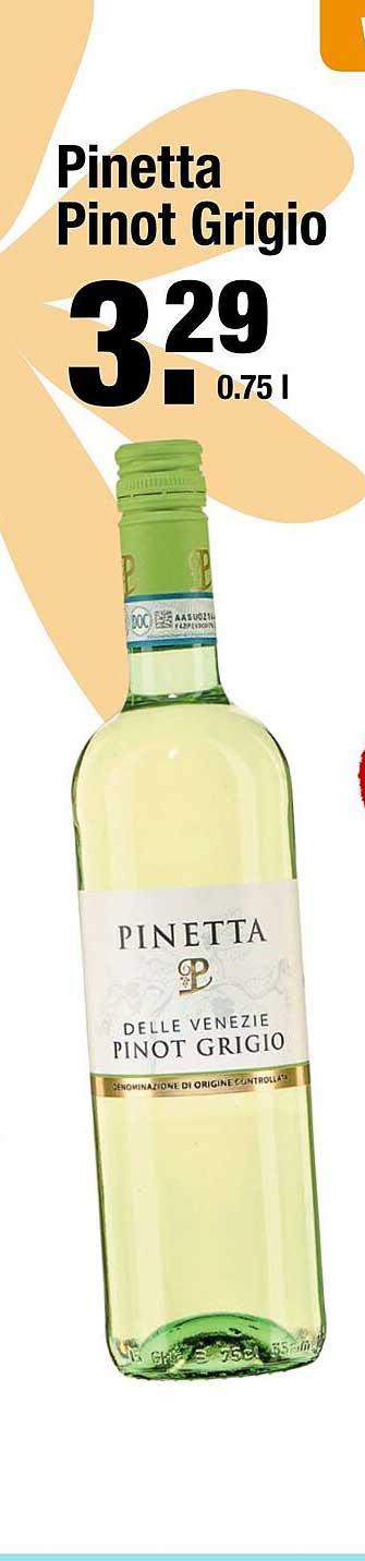 ALDI Pinetta Pinot Grigio